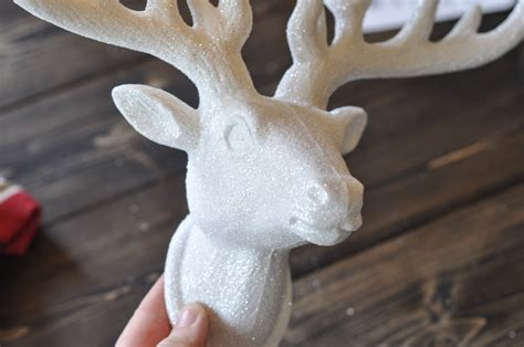 28 best polystyrene deer foam deer with blue scarf