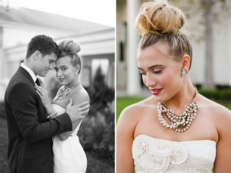 Wedding Hairstyles High Buns by Bridal Buns Wedding Hairstyle Inspiration