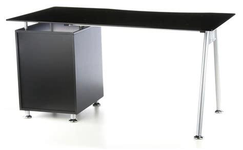 scrivania 120x60 scrivania per computer nero in cristallo nero temperato