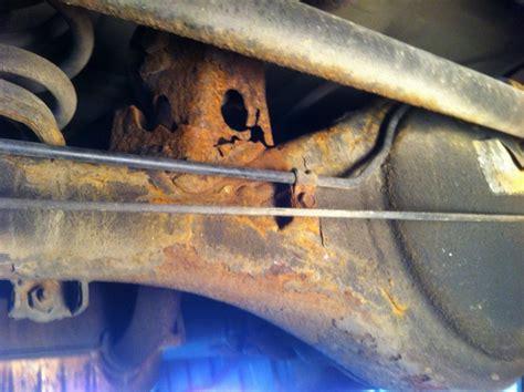 kia sorento rear axle problems 2004 kia sorento rear arm brackets rusted 2