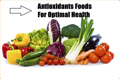 foods for holy antioxidants green