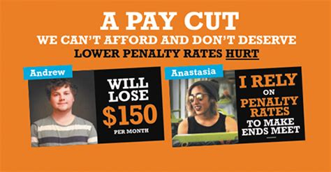 Cant Afford Carmens Cut Try A by Protect Penalty Rates