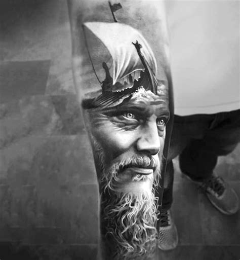 75 black and white tattoos for men masculine ink designs