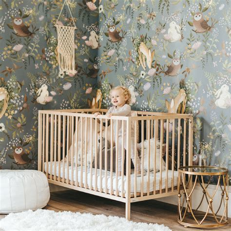 baby nursery wall decor  lovely nursery room wallpapers