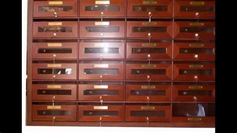 cassette postali in legno casellari postali in legno e stile della posta2000 roma