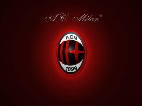 logo wallpaper ac milan logo wallpapers hd collection free