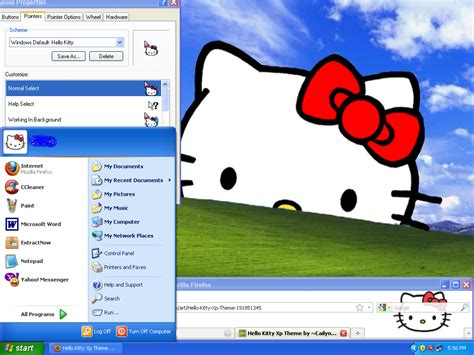 hello kitty themes for windows vista free download my hello kitty theme for windows 7 starter by auto