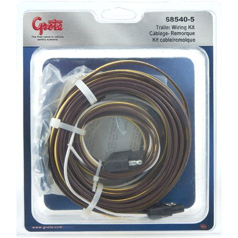 68540 5 boat utility trailer wiring kit retail pack