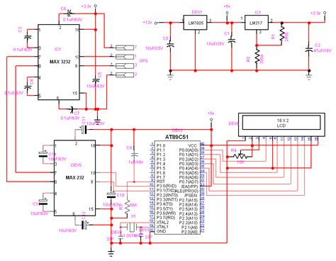 Layout Program Free circuit diagram and program to interface a gps receiver