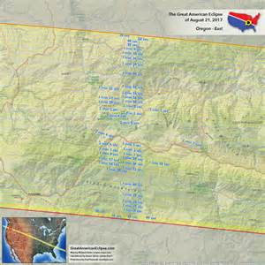 map of oregon totality oregon eclipse total solar eclipse of aug 21 2017