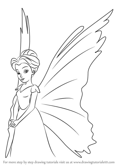 learn how to draw queen clarion from tinker bell tinker