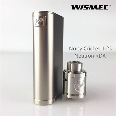 Garskin Noisy Cricket 2 Mod Vapor wismec noisy cricket ii 25 worth collection with fs