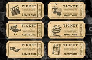 ticket template 91 free word excel pdf psd eps