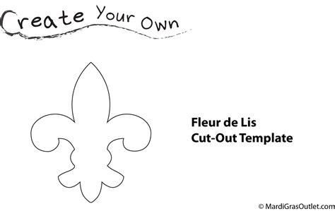 fleur de lis template ideas by mardi gras outlet how to fleur de lis