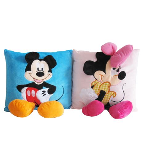 Mickey And Minnie Pillows by 35 35cm Mickey Mouse And Minnie Plush Pillow Cushion