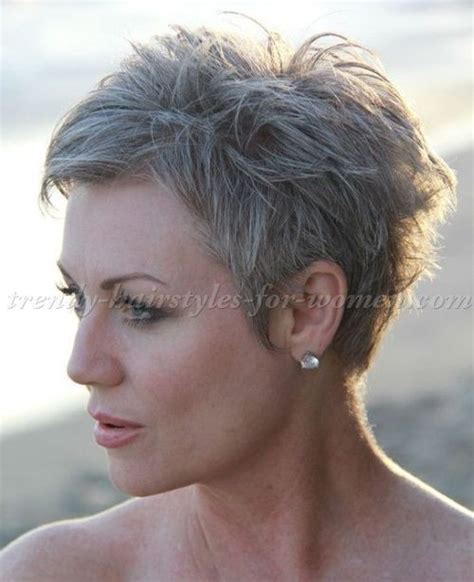 pixie haircuts gray hair short pixie haircuts for women over 50 wow com image