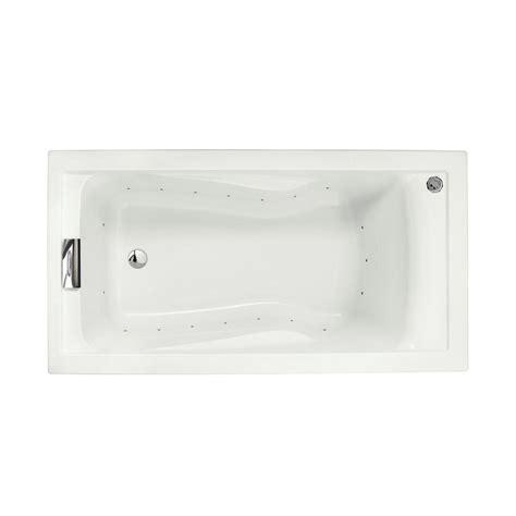 deep 5 foot bathtub american standard evolution 5 ft deep soak air bath tub with integral apron and left