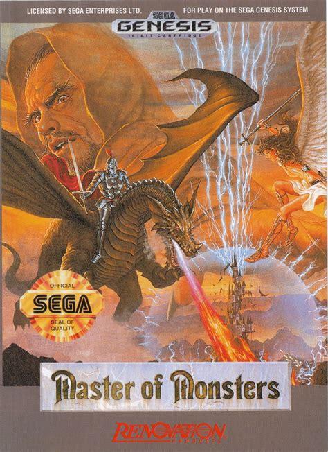 mstr monstore master of monsters for genesis 1991 mobygames