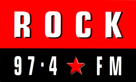 rock fm sticker west radio