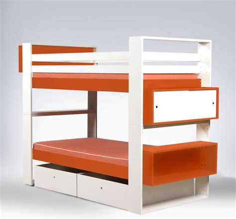 modern kids beds ducduc austin painted bunk bed modern kids beds by