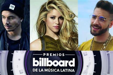 Premios Billboard 2018 Lista Completa De Los Nominados Conoce La Lista Completa De Los Nominados A Premios Billboard 2018 Espect 225 Culos Canal 3