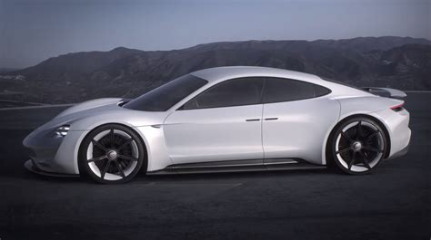 porsche mission e red 911 turbo pictures videos porsche concept study mission e
