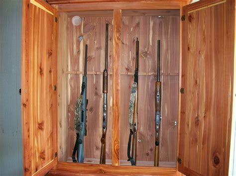 karen making your own gun cabinet