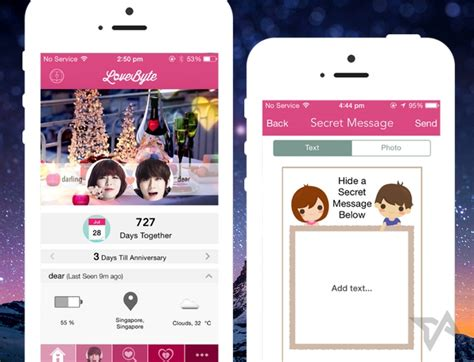 Best Messaging App For Couples Lovebyte Adds New Lovey Dovey Features As Couples