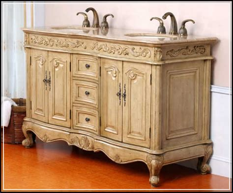 Antique Bathroom Vanity Cabinets Antique Bathroom Vanities Highly Crafted And Carved Home Design Ideas Plans