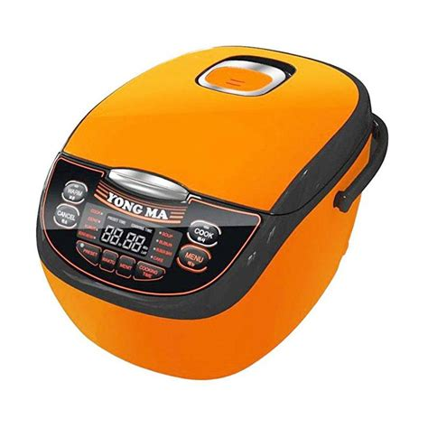 Yong Ma Ymc110 Digital Rice Cooker jual yong ma ymc 116c digital eco rice cooker orange
