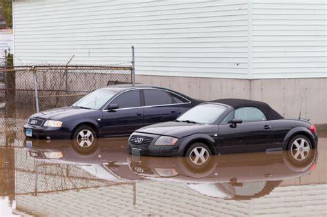 Audi Wallingford by Two Dozen Cars At Audi Dealer In Wallingford Damaged