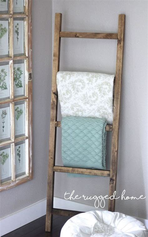 rustic ladder   dollars home decor