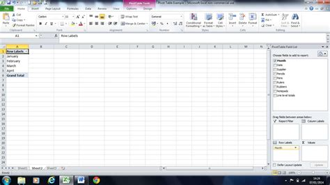 pivot table tutorial in excel 2007 pdf pivot tables in excel