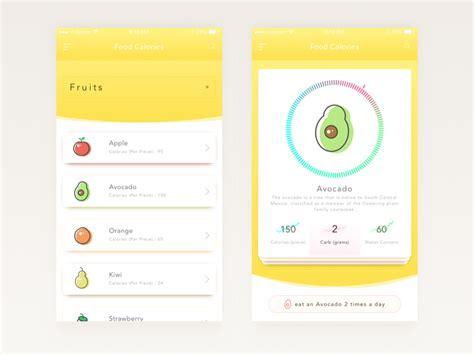 design app in sketch food calories app design sketch free psds sketch app