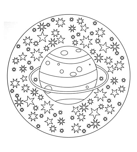 B 52 Coloring Pages by Free Coloring Page Free Mandala To Color Planet