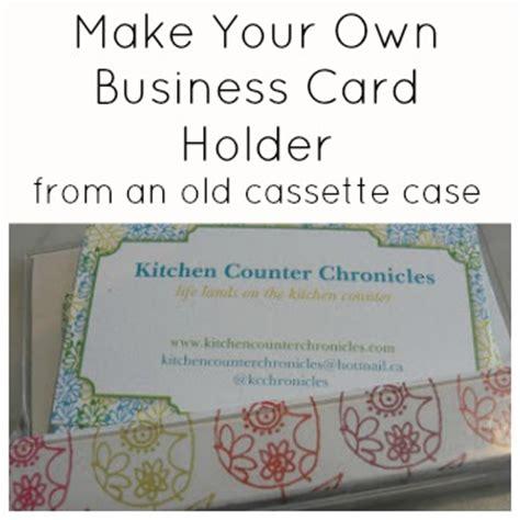 make your own card holder make your own handmade business card holder
