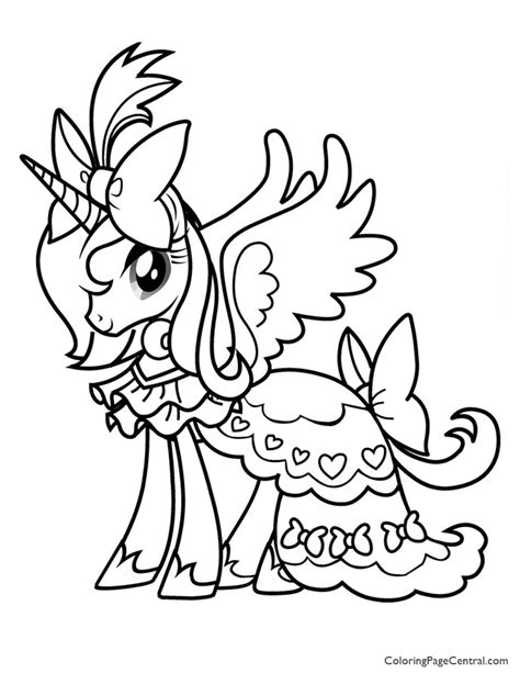 coloring pages my pretty pony my little pony 01 coloring page coloring page central