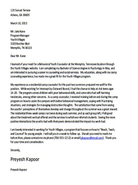 covering letter formats best template collection