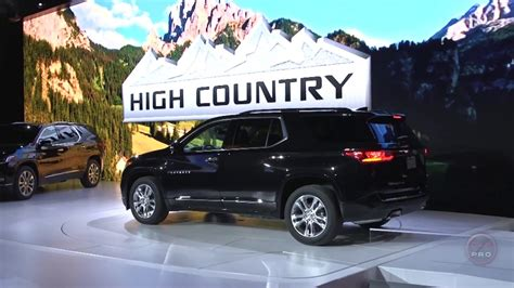 2018 Chevrolet Traverse High Country 2018 Chevrolet Traverse High Country Look Doovi