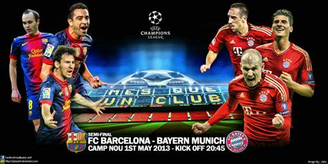 wallpaper barcelona vs bayer munchen fc barcelona bayern munich by jafarjeef on deviantart