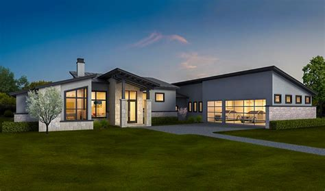 contemporary house plans free exclusive contemporary ranch home with in apartment 430028ly architectural designs