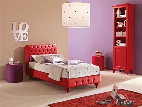 canapé lit chambre ado chambre multicolore ado