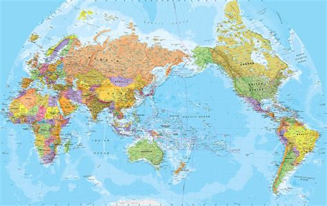 world map image pacific centered world pacific centered wall map fully by mapsinternationalusa