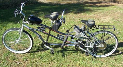 kent dual drive tandem comfort bike kent motorized tandem bicycle gas powered 30mph for two