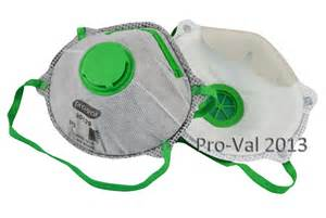 Shoe And Boot Storage P2 Carbon Disposable Respirator With Valve Pro Val