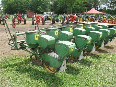 Vintage John Deere 6 Row Seed Planter Vintage Farm Tools Seed Planter For Tractor