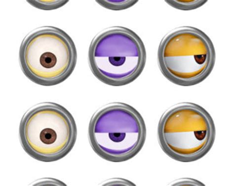 printable purple minion eyes 7 best images of despicable me minion mouth printable