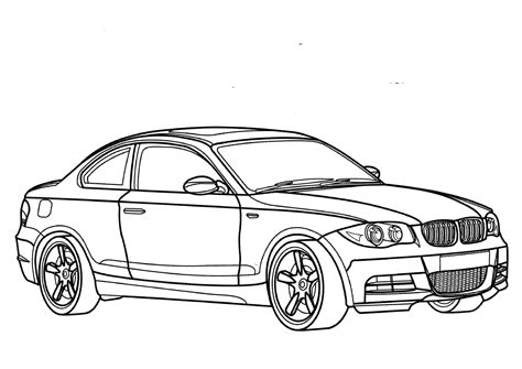 coloring pages of bmw cars bmw coloring pages to and print for free