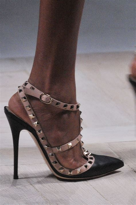 Valentino Studed daily crave valentino winter 2010 studded shoes hey