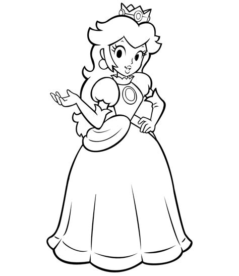 princess coloring page games coloring pages of princess peach video game coloring